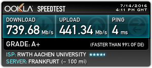 speedtest net